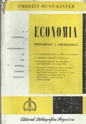 ECONOMÍA. Pricipios y problemas: UMBREIT - HUNT