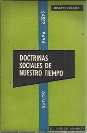 DOCTRINAS SOCIALES DE NUESTRO TIEMPO: Folliet, Joseph