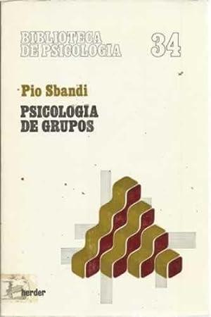 PSICOLOGÍA DE GRUPOS: SBANDI, Pio