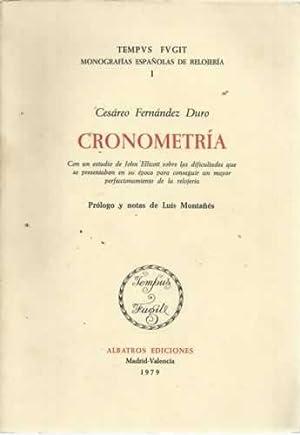 CRONOMETRÍA: FERNÁNDEZ DURO, Cesáreo
