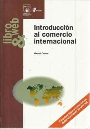 INTRODUCCIÓN AL COMERCIO INTERNACIONAL: CANTOS, Manuel
