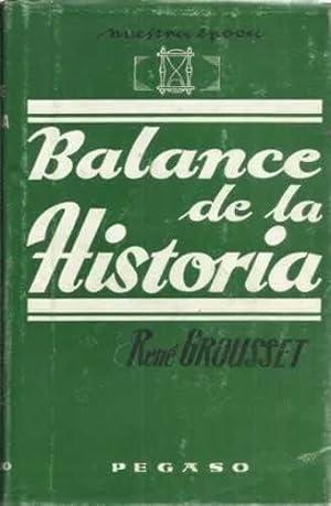 BALANCE DE LA HISTORIA: GROUSSET, René