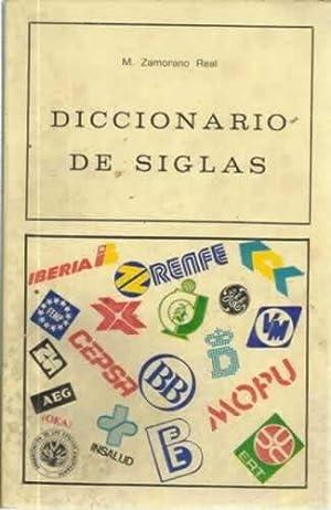 DICCIONARIO DE SIGLAS: ZAMORANO REAL, Manuel