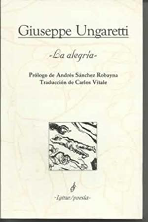 LA ALEGRÍA: Ungaretti, Giuseppe