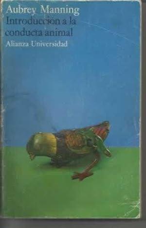 INTRODUCCIÓN A LA CONDUCTA ANIMAL: MANNING, Aubrey
