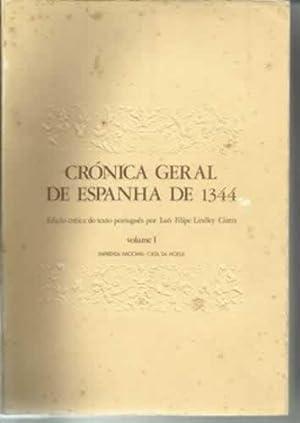 CRÓNICA GERAL DE ESPANHA DE 1344. (4 TOMOS): LINDLEY CINTRA, Luís Filipe