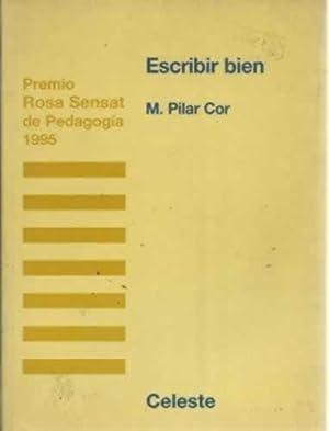 ESCRIBIR BIEN: COR, M. Pilar