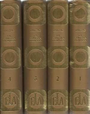 LA COMEDIA HUMANA (4 tomos): DE BALZAC, Honorato