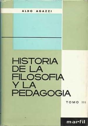 HISTORIA DE LA FILOSOFÍA Y LA PEDAGOGÍA: AGAZZI, Aldo