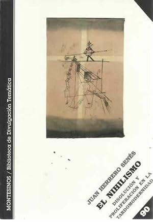 EL NIHILISMO: HERRERO SENES, Juan