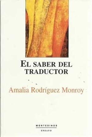 El saber del traductor: Rodríguez Monroy, Amalia