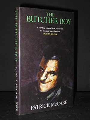 """butcher boy patrick mccabe essay In patrick mccabe's dark phantasmagoria set in early sixties small town ireland  the butcher boy, probably the most pitch black irish """"comedy""""."""
