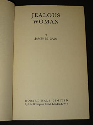 Jealous Woman (and Sinful Woman): James M. Cain