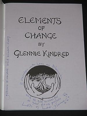 Elements of Change [SIGNED]: Glennie Kindred
