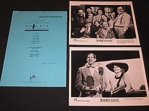 Original 1987 Press Kit for the film