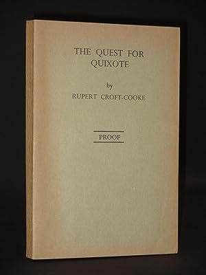The Quest for Quixote: Rupert Croft-Cooke