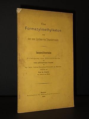 ueber Formazylmethylketon und eine neue Sunthese von Triazolderivaten. Inaugural-Dissertation zur ...