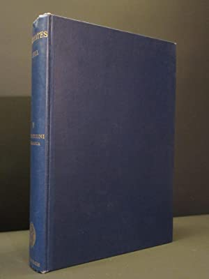 Primates: Comparative Anatomy and Taxonomy: Volume II: W.C. Osman Hill
