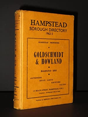 Hampstead Borough Directory: Including Fortune Green, Kilburn, Swiss Cottage and Part of ...