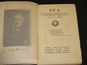 SVA: George C.M. Birdwood / F.H. Brown (Ed.)