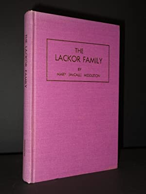 The Lackor Family (Lackore - Lacore - La Core - Lucore): Mary (McCall) Middleton