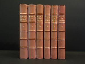 Memoires Touchant La Vie et Les Ecrits de Marie de Rabutin-Chantal. : (Complete 6 volume set): ...
