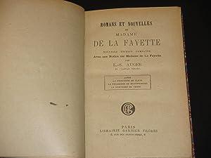 Romans et Nouvelles de Madame de la Fayette: Zaide; La Princesse de Cleve; La Princesse de ...