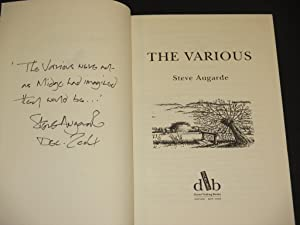 The Various [SIGNED]: Steve Augarde