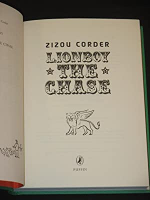 Lionboy: The Chase [SIGNED]: Zizou Corder (Louisa Young and Isabel Adomakoh Young)