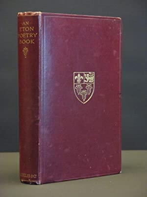 An Eton Poetry Book