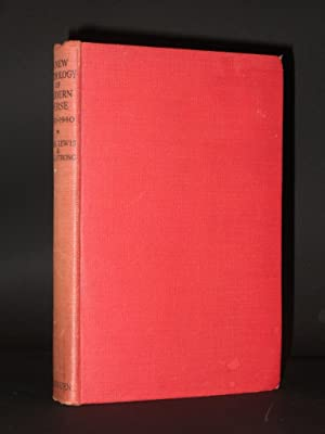 A New Anthology of Modern Verse 1920-1940 [SIGNED]