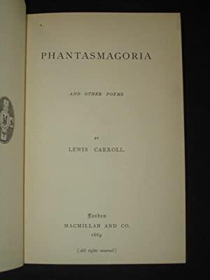 Phantasmagoria and Other Poems: Lewis Carroll