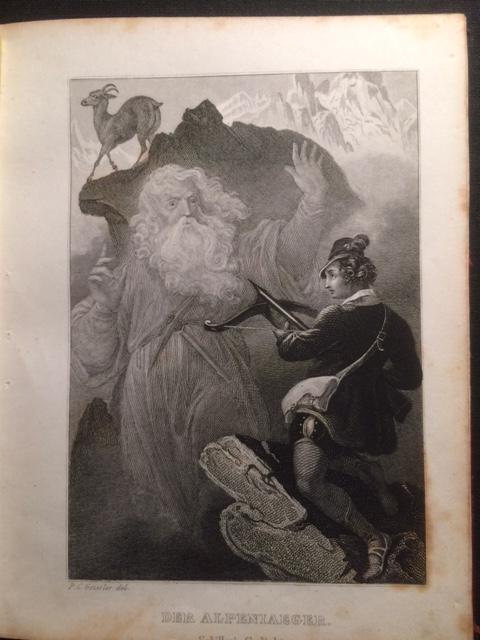 19 Stahlstiche zu Schillers Werken. (17 von: Schiller, Friedrich von