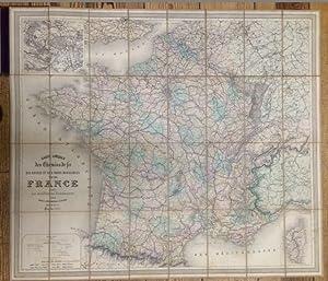 Carte Speciale des Chemins de fer des: Andriveau-Goujon, E.