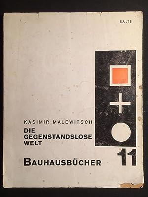 Die gegenstandslose Welt. Bauhausbücher 11. Übersetzung von: Bauhaus - Bauhausbücher
