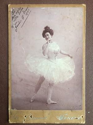 Tänzerin, 1901. Foto Vintage 16,5 cm x: Boissonnas, Fred (Frédéric).