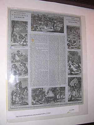 The California Indians (Pictorial Letter Sheet): California Letter Sheet) Hutching's California ...