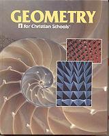 Geometry for Christian Schools: Pilger, Kathy D.