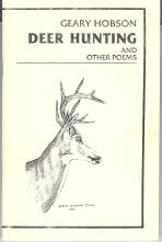 Deer Hunting and Other Poems