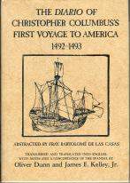 The Diario of Christopher Columbus's First Voyage to America 1492-1493