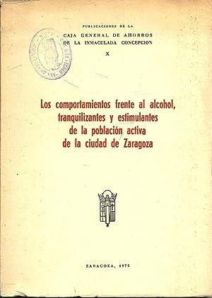 Los comportamientos frente al alcohol, tranquilizantes y: Seva Díaz, Antonio
