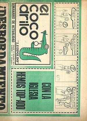 El cocodrilo Leopoldo. Semanario de actualidad, Madrid, 6 de diciembre de 1974, núm. 1