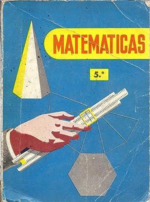 Matemáticas. Quinto curso: Marcos, Constantino y