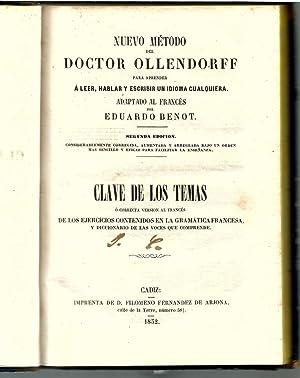Nuevo método del Doctor Ollendorff para aprender: Benot, Eduardo (adapt.)