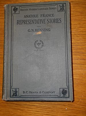 Representative Stories of Anatole France: G.N. Henning