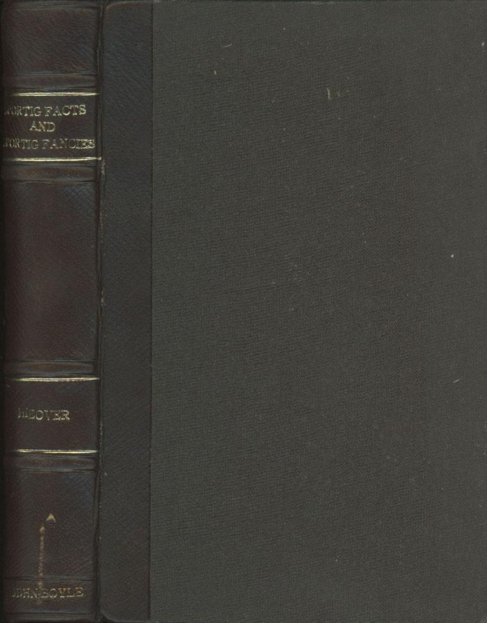 Sporting Facts and Sporting Fancies Hieover, Harry First Edition. c.1853. Hardcover. Brown moroccan leather spine, gilt titles. 8vo. 452pp. Very Good. Age toning to contents, light wear. Title on spine