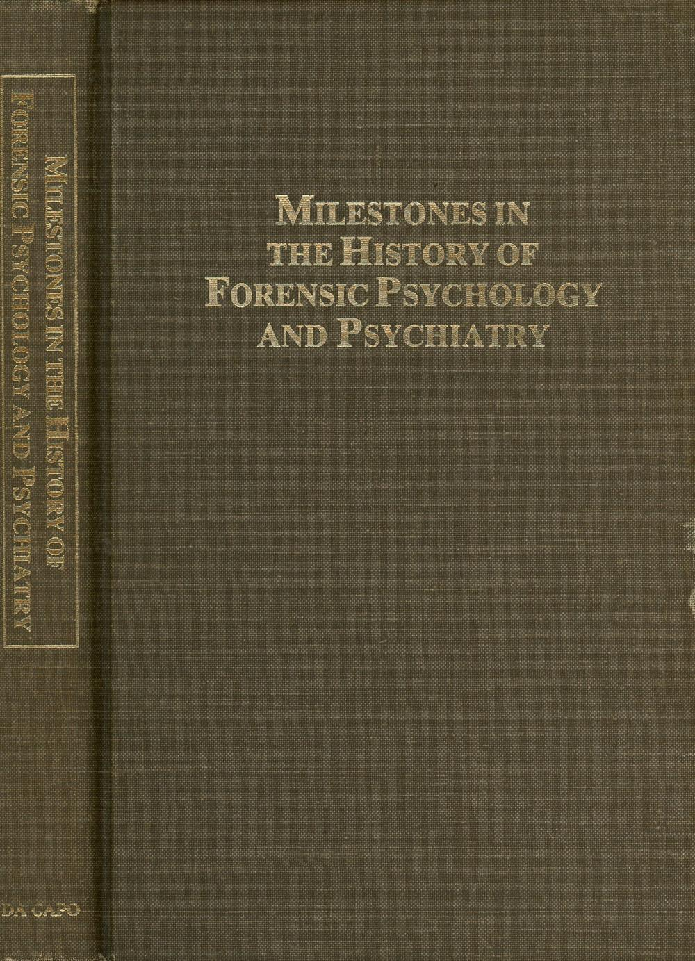milestones in psychology Cognitive psychology: the brain key milestones cognitive psychology is essential to the development of the scientific psychological field wilhelm wundt was the first to take the science of psychology into the laboratory with the intention of studying human thoughts in 1879.