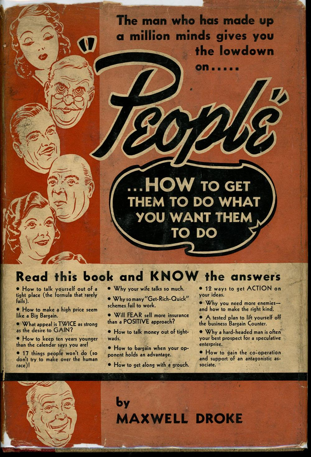 People.how To Get Them To Do What You Want Them To Do Droke, Maxwell Good Hardcover