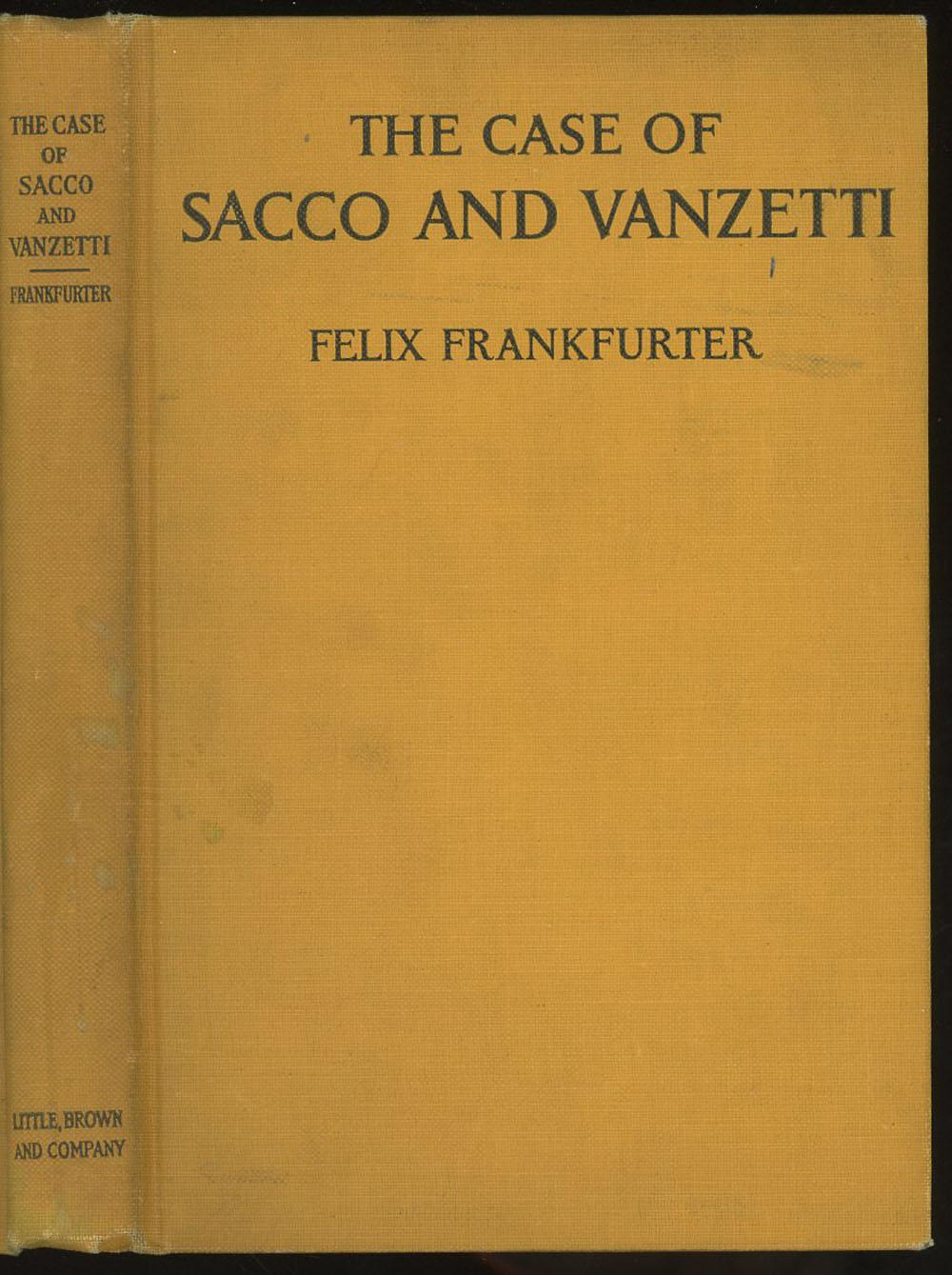 an analysis of the sacco and vanzetti court case persons involved in the slater and morrill shoe com S sacco and vanzetti case the sacco and vanzetti case is widely regarded as a miscarriage of justice in american legal history nicola sacco and bartolomeo vanzetti, italian immi.