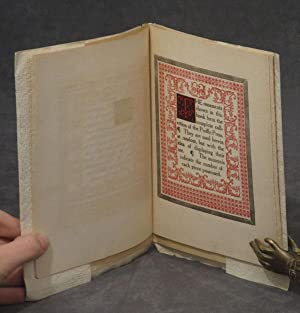 The Specimen Book of the Types and Ornaments to be used in the Printing of the Publications of the ...